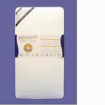 Naturepedic No Compromise Organic Cotton Classic 150 Seamless Dual Firmness Crib Mattress