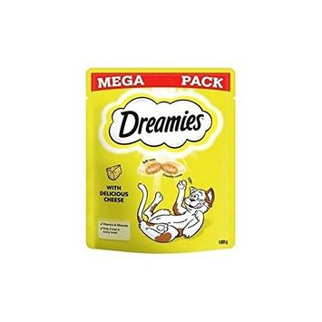 Dreamies Cat Treats with Cheese Mega Pack (180g)
