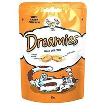 Dreamies Cat Treats with Tasty Chicken (60g)