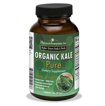 Organic Kale Pure Harmonic Innerprizes 3 oz Powder