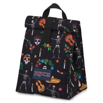 JanSport Rolltop Lunch Bag, Black, Durable