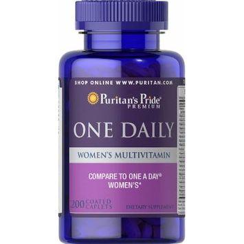 Puritan's Pride One Daily Women's Multivitamin-200 Caplets