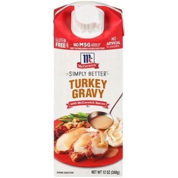 McCormick Turkey Wet Gravy, 12 OZ