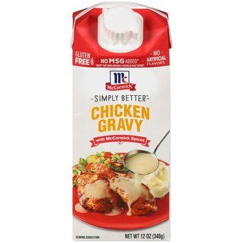 McCormick Chicken Wet Gravy, 12 OZ