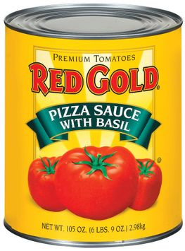 Red Gold W/Basil Pizza Sauce