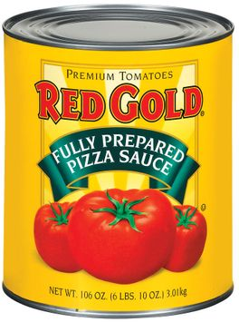 Red Gold Fully Prepared Pizza Sauce
