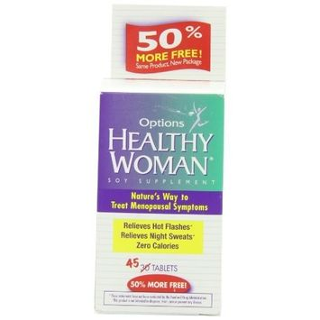Emerson Healthcare Healthy Woman Soy Menopause Supplement 45 Tablets
