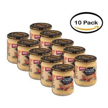PACK OF 10 - On The Border Mexican Grill & Cantina Salsa Con Queso, 15.5 oz