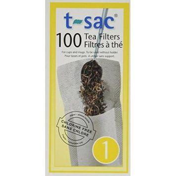 T-Sac Tea Filter Size 1 - 1000 Filters