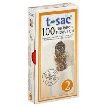 T-sac T Sac Tea Filters No 2 100 Pc. Case Of 6
