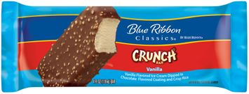 Blue Ribbon Classics® Vanilla Crunch Ice Cream Bar Wrapper