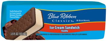 Blue Ribbon Classics® Ice Cream Sandwich Vanilla