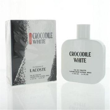 Perfect Star ZZMPSCROCODILEWHITE3 Crocodile White By Perfect Star 3.4 oz. Eau De Toilette Spray