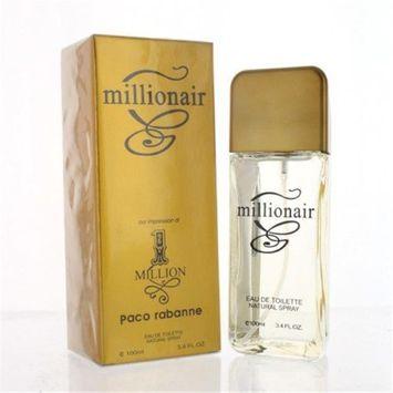 Perfect Star ZZMPSMILLIONAIR34EDT Millionair By Perfect Star 3.4 oz. Eau De Parfum Spray
