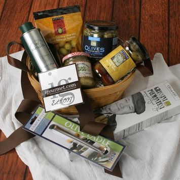 Olive Lover's Gift Crate