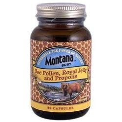 Montana Naturals - Bee Pollen Royal Jelly & Propolis - 90 Capsules