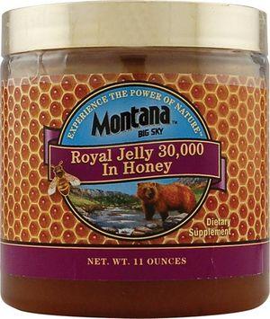 Royal Jelly 30,000mg in Honey 11 oz, Montana Naturals