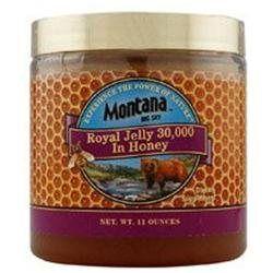 Montana Naturals - Royal Jelly 30000 In Honey - 11 oz.