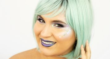 Halloween Makeup DIY: Celestial Queen