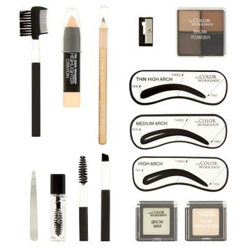 Markwins International Corporation Limited The Color Workshop Wow Wow Brows Brow Set, 17 piece