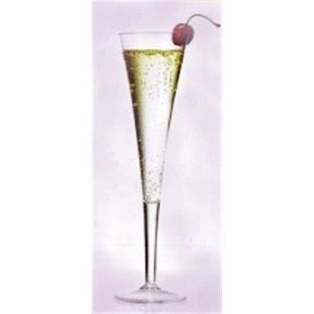 Grand 6 oz. Unbreakable Polycarbonate Plastic Champagne Glass (each)