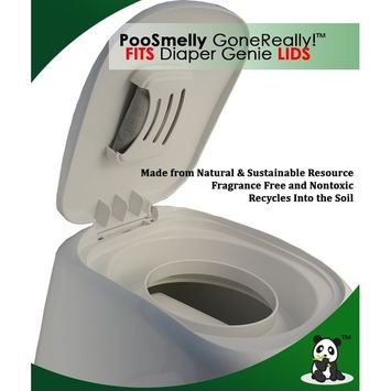 PooSmelly GoneReally! - Moso Bamboo Charcoal Diaper Pail Deodorizers (6 sachets)