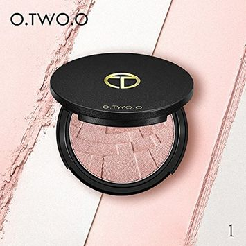 Fenleo Trimming Professional New Makeup Face Powder Highlighter Powder Palette 4 Colors 0.32oz