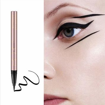 Liquid Eyeliner, Waterproof Make Up, Smudgeproof, Sweatproof, Long Lasting Liquid Eyeliner Pen, Last for All Day Long, Easy To Carry, Black.