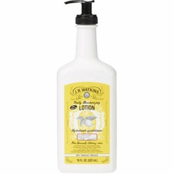 J.R. Watkins Lemon Cream Daily Moisturizing Lotion, 18 fl oz