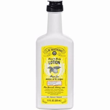 J.r. Watkins Hand And Body Lotion Lemon Cream - 11 Fl Oz