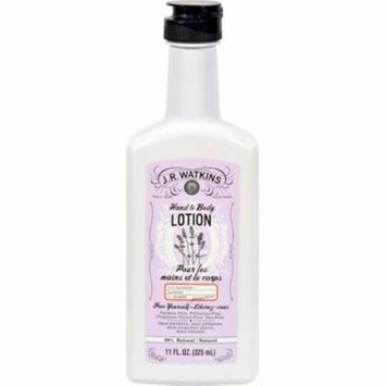 J.r. Watkins Hand And Body Lotion Lavender - 11 Fl Oz