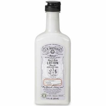 Naturals Apothecary Hand & Body Lotion Lavender - 11 fl. oz. by JR Watkins (pack of 12)