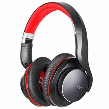 KingWo Wireless Bluetooth Over Ear Stereo Foldable Headphones, Wireless and Wired Mode Headsets with Soft Memory-Protein Earmuffs,Built-in Mic for Mobile Phone TV PC Laptop