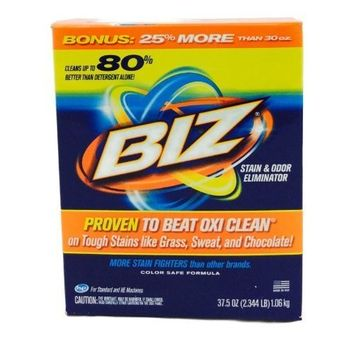 Biz Stain & Odor Eliminator, 37.5 Ounce