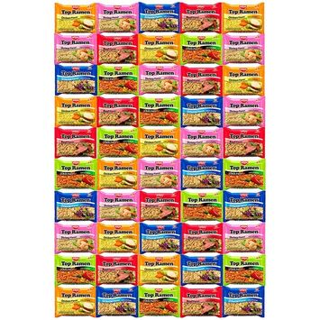 Snack Chest Nissin Top Ramen Noodles 5 Different Flavors Variety Sampler