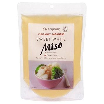 Clearspring Gluten Free Organic Sweet Miso Paste White - 250g