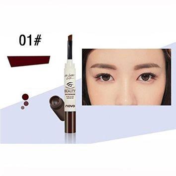 KingWo Novo Fashion Makeup Cream Eyebrow Dye Mascara Natural Eyebrow Cream Brown Black