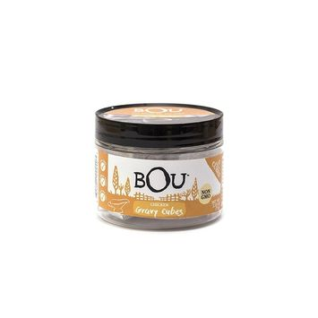 BOU Chicken Gravy Cubes, Pack of Three (3) 2.53 Ounce Containers Packed with Natural, Traditional Ingredients