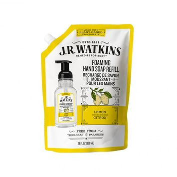 J.R. Watkins Foaming Hand Soap Refill, Lemon, 28 Oz Packet