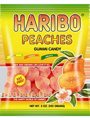 HARIBO Peaches Gummi Candy