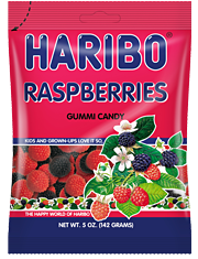 HARIBO Raspberries Gummi Candy