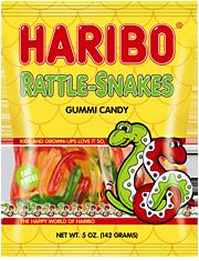 HARIBO Rattle-Snakes