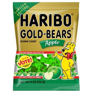 Haribo Gold-Bears Apple Gummi Candy