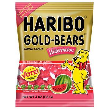 Haribo Gold-Bears Watermelon Gummi Candy