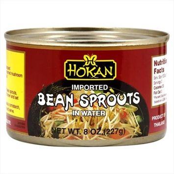 Hokan Bean Sprouts 8 OZ, Pack Of 12