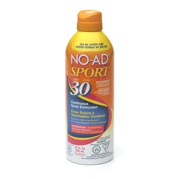 NO-AD Sport Continuous Spray Sunblock