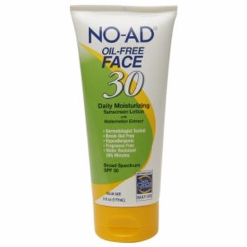 No-ad NO-AD Oil-Free Face Lotion SPF 30, 6 fl oz