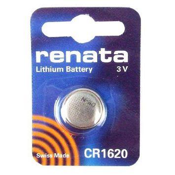 Renata #CR1620 Lithium Coin Battery