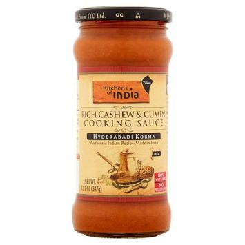 Liberty Richter Kitchens Of India, Sauce Chickeng Cshw; Cumin, 12.2 Oz (Pack Of 6)