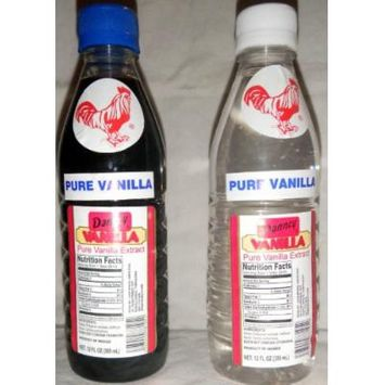 2 X Danncy Mixed Pure Mexican Vanilla Extract From Mexico 12oz Each 2 Plastic Bottle Lot Sealed